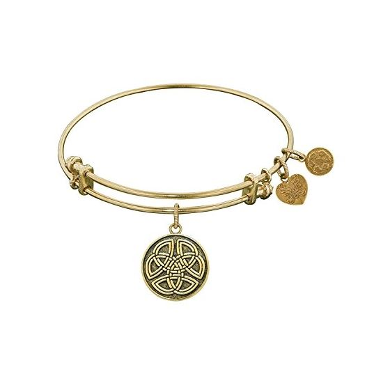 Angelica Ladies Inspirational Collection Bangle Charm 7.25 Inches (Adjustable) GEL1181