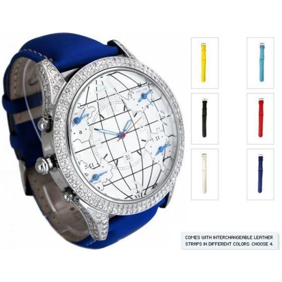 DIAMOND CASE - 256 STONES - 3.00 CTS - CW6DC Blue
