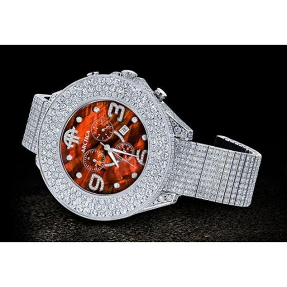 Arctica Watches Arctica 57mm Diamond Case 41.50ct