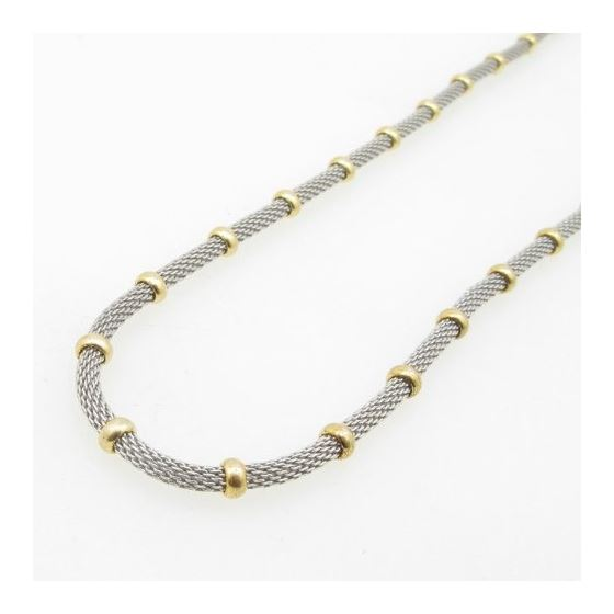 925 Sterling Silver Italian Chain 18 inches long and 4mm wide GSC52 3