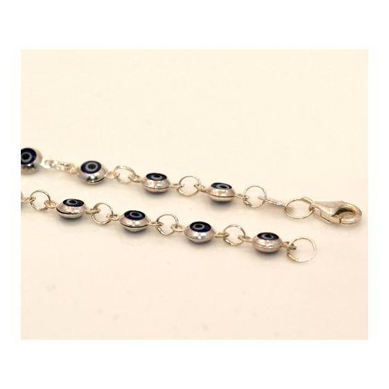 Evil Eye Murano Glass Bead Designer Ster 73107 3