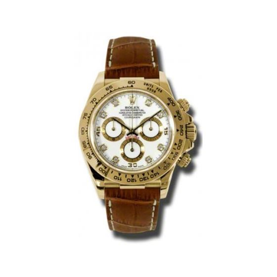 Rolex Watches  Daytona Yellow Gold  Leat 54189 1