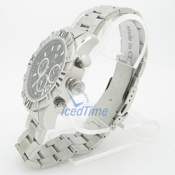 Mens Aqua Master Iced Out Diamond Watch W333AQ1 3