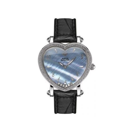Aqua Master Diamond Watch Aqua Master Ladies Floating Diamond Heart Watches 63-6W