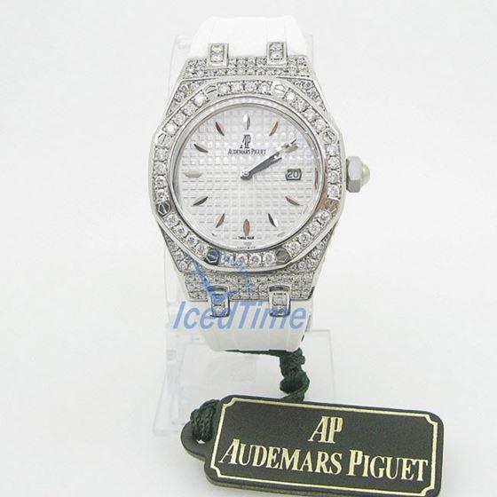 Audemars Piguet Royal Oak Lady Quartz Watch 67601ST.ZZ.D302CR.01.02 1