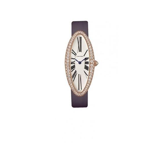 Cartier Baignoire Allongee 18kt Rose Gol 55101 1