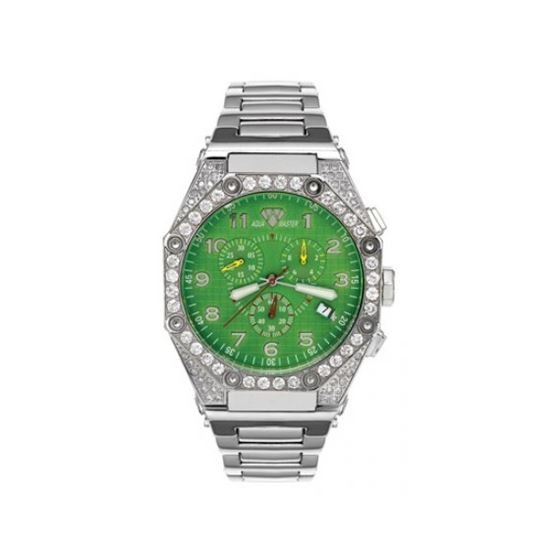Aqua Master Diamond Watch The AquaMaster Octagon Watches Stainless Steel with Diamonds 2-3W
