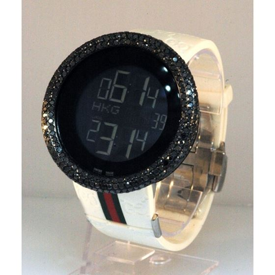 8663979e4b8 Diamond Gucci Watches  Mens Luxury Watch 28116 1