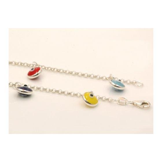 Evil Eye Murano Glass Bead Designer Ster 73101 3