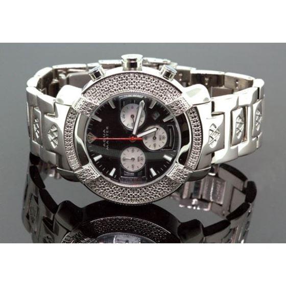 Aqua Master Mens Diamond Watch 96-57