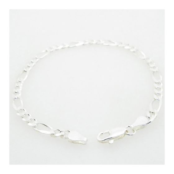 figaro bracelet franco cuban miami rope charm fancy Figaro link bracelet Length - 7 inches Width - 4