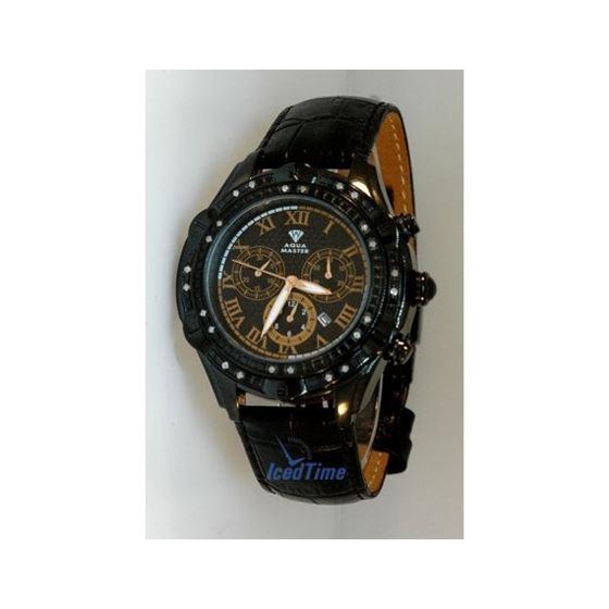 Aqua Master Mens Diamond Watch AQMOS01