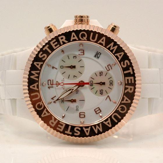 Aqua Master Mens Ceramic Quartz Watch W3 53478 1