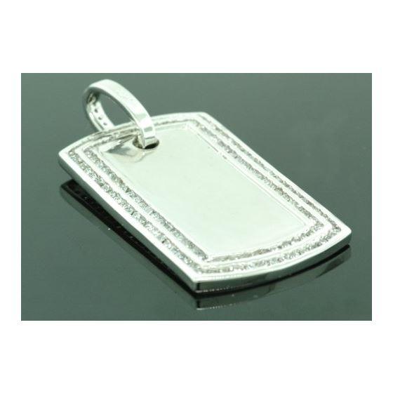 .925 Sterling Silver Men Crystal Stone M 87524 1