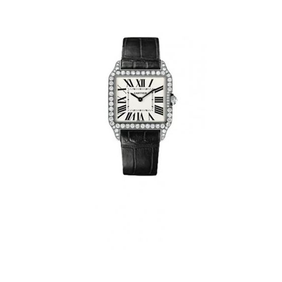Cartier Santos-dumont Small Solid Gold W 55213 1