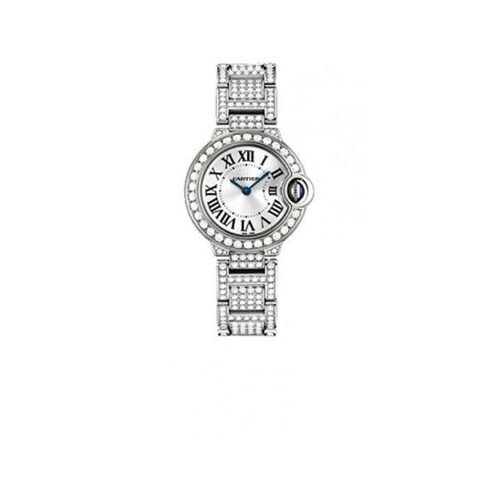 Cartier Ballon Bleu Ladies Diamond Watch WE9003ZA