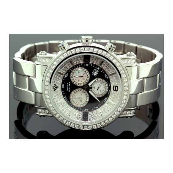 Diamond Mens Watch 3.60Ct W104a
