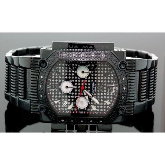 Agua Master 0.16ctw Mens Diamond Watch w3231 1