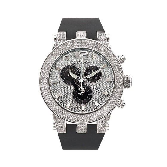JRBR1 Broadway Diamond Watch, White Dial With Blac