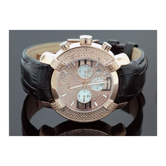 Mens Diamond Watch Hip Hop Jewelry 96-62