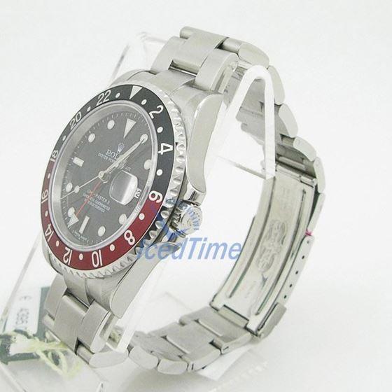 """Rolex GMT Master II Black Dial """"""""Coca Co 53969"