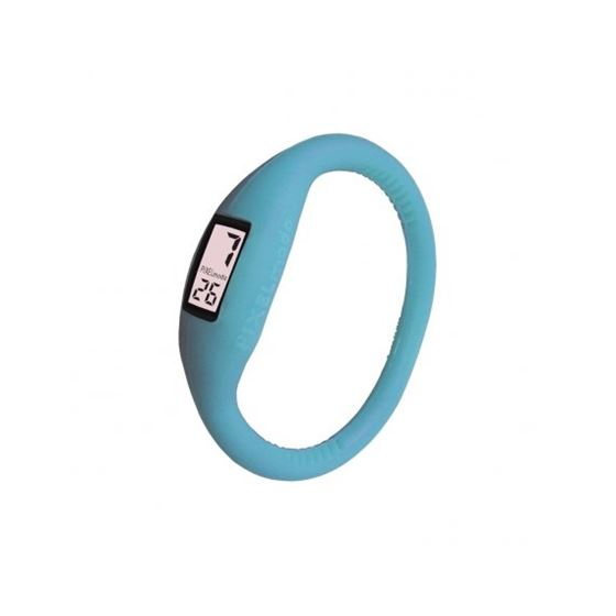 Pixel Moda Ultra Light Digital Unisex Watch Baby Blue