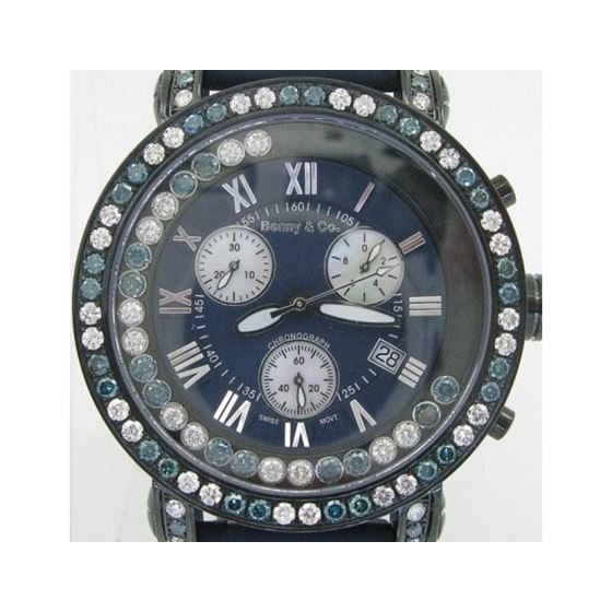Blue And White Benny Co Diamond Watch BNC4 1