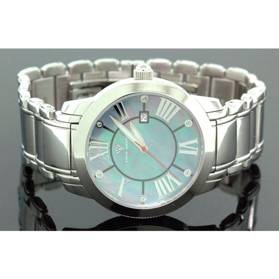 Aqua Master Diamond Mens Watch w3201a 1