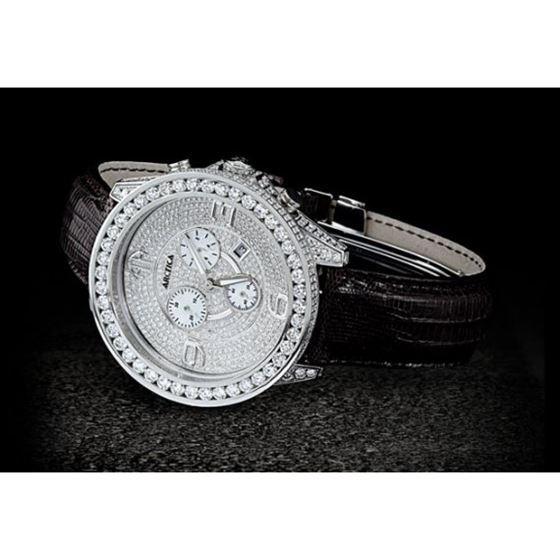 Arctica Watches Arctica 47mm Diamond Case 13.95ct