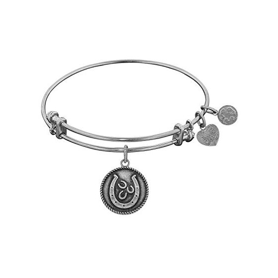 Angelica Ladies Sports and Hobbies Collection Bangle Charm 7.25 Inches (Adjustable) WGEL1152