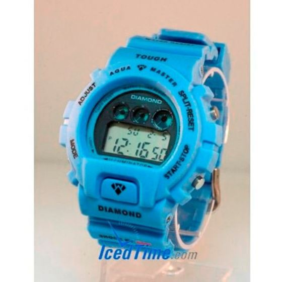 Aqua Master Shock Digital Watch Blue 1