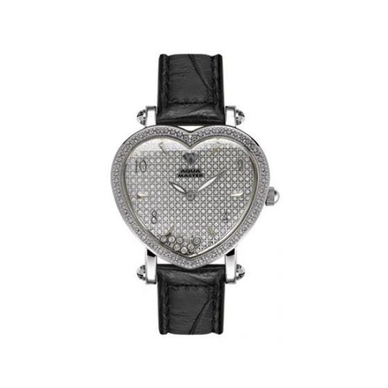 Aqua Master Diamond Watch Aqua Master Ladies Floating Diamond Heart Watches 63-3W