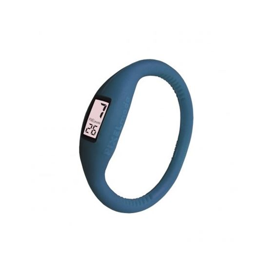 Pixel Moda Ultra Light Digital Unisex Watch Pacific Blue