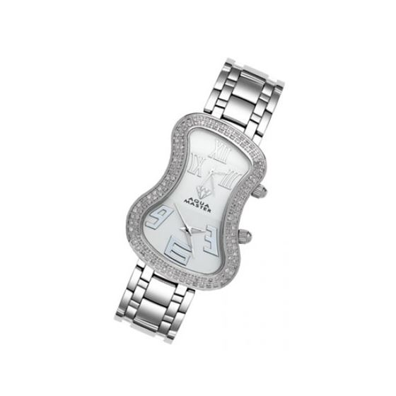Aqua Master Diamond Watch The AquaMaster Two-Time Zone Ladies Watches 42-9W