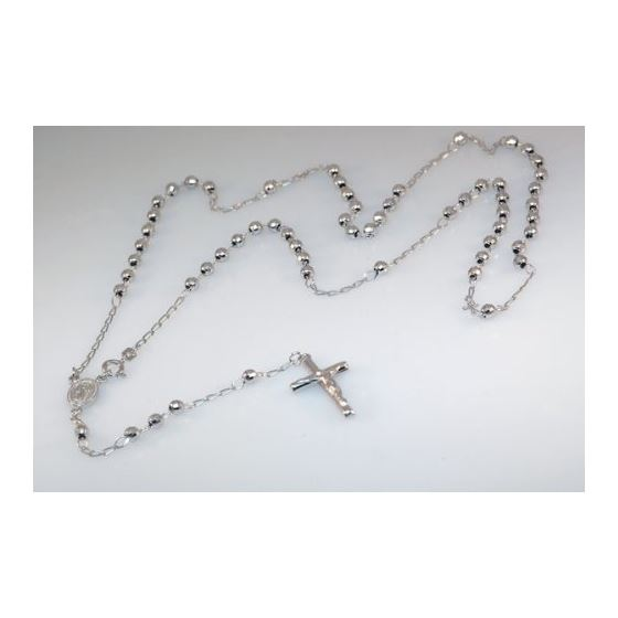Stainless Steel Y-necklace with Cross 1