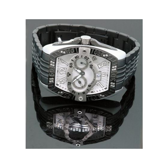 Aqua Master Tonneau 0.50ctw Mens Diamond Watch W315-4