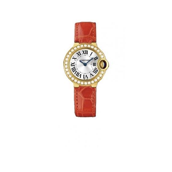 Cartier Ballon Bleu Ladies Gold Watch WE900151