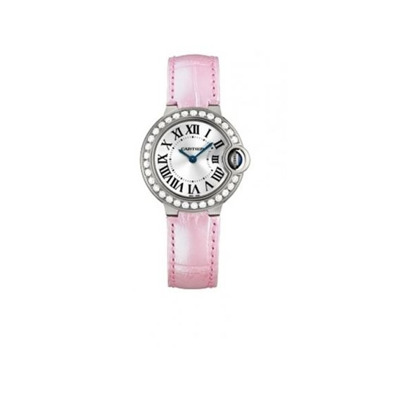 Cartier Ballon Bleu Ladies Gold Watch WE900351