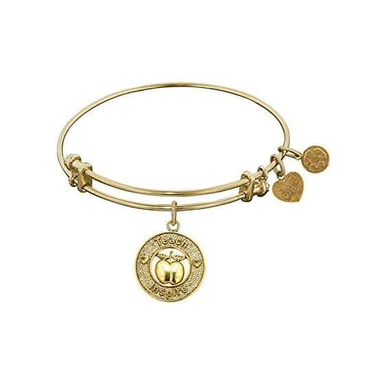 Angelica Ladies Profession Collection Bangle Charm 7.25 Inches (Adjustable) GEL1036