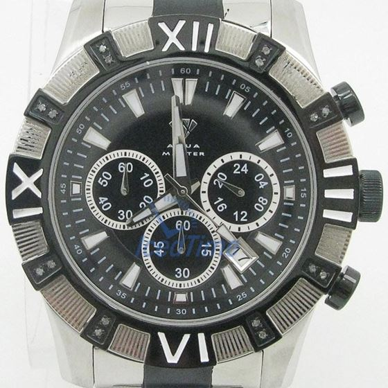 Mens Aqua Master Iced Out Diamond Watch W333AQ7 1