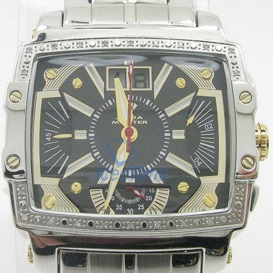 Mens Aqua Master Iced Out Diamond Watch W329AQ1 1