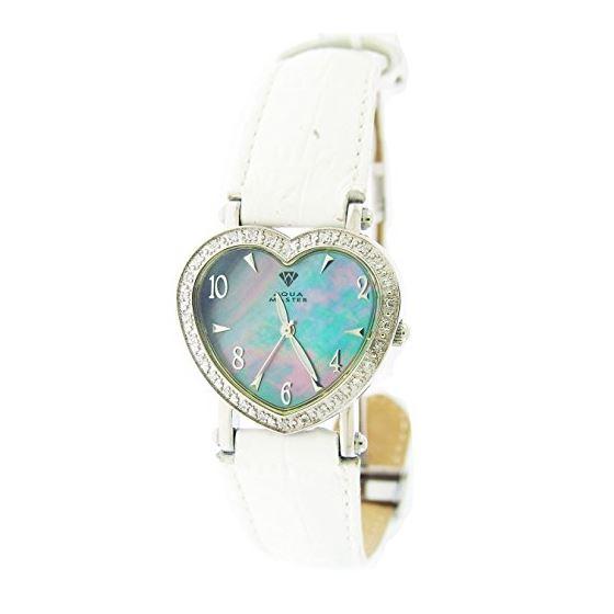 Swiss Aqua Master Lady Style Heart 0.50Ct Diamonds