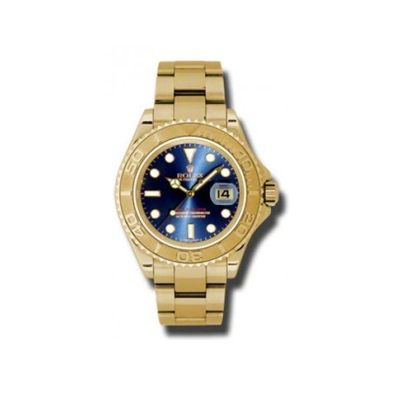 Rolex Watches  YachtMaster Mens Gold 166 54071 1