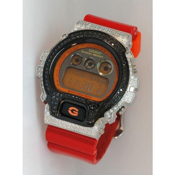 Casio G-Shock 5.00 ct Swarovski Iced Out Mens Watch G-109 1