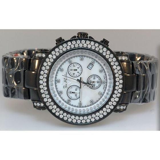 Mens Joe Rodeo Junior Diamond Watch 4.75ct 3