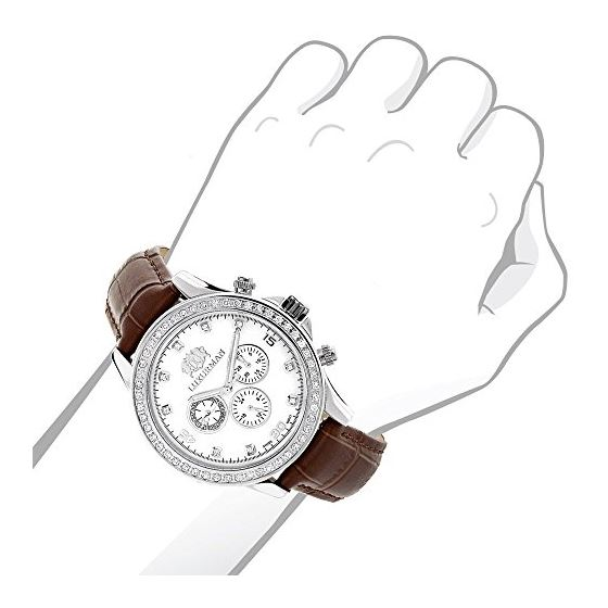 Diamond Watches For Men: Luxurman Libert 89755 3