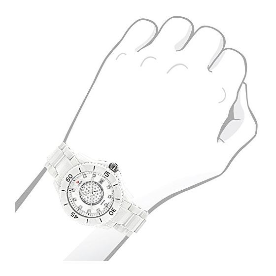 Womens Diamond Watch By Icetime Stainless Steel-3