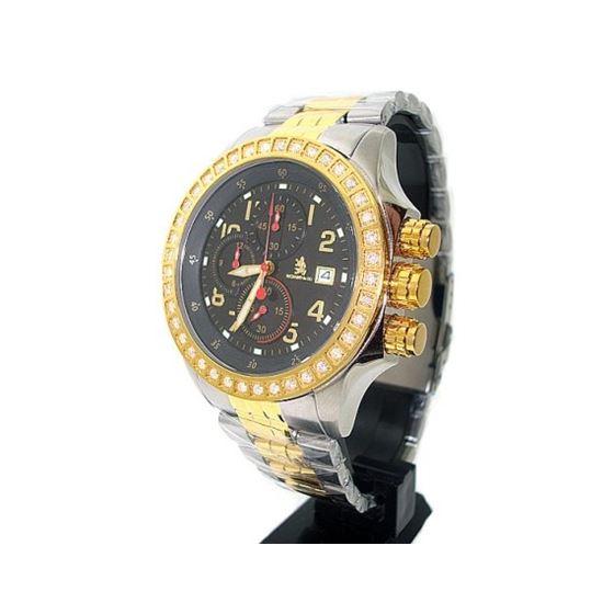 Richard  Company Diamond Watch Two Tone 1.00ct