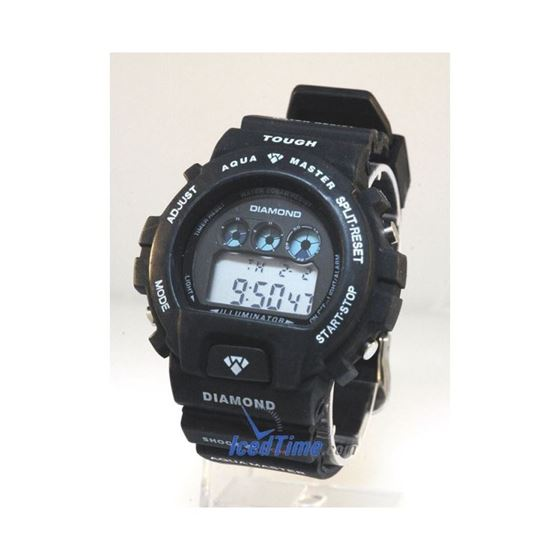 Aqua Master Shock Digital Watch Black 92295 1