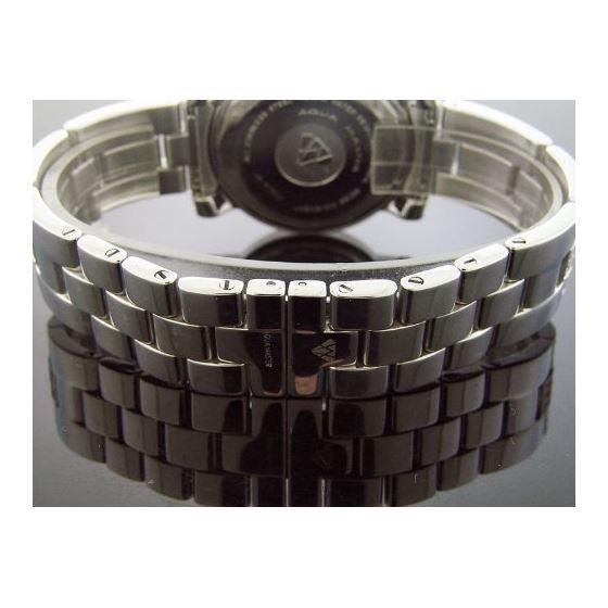 6.75Ct Diamonds Bazel Band Watch White M-O-P Fac-3